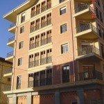 15 viviendas en Amurrio - Fachada lateral