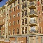 15 viviendas en Amurrio - Fachada trasera