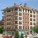 15 viviendas en Amurrio - Render delantero