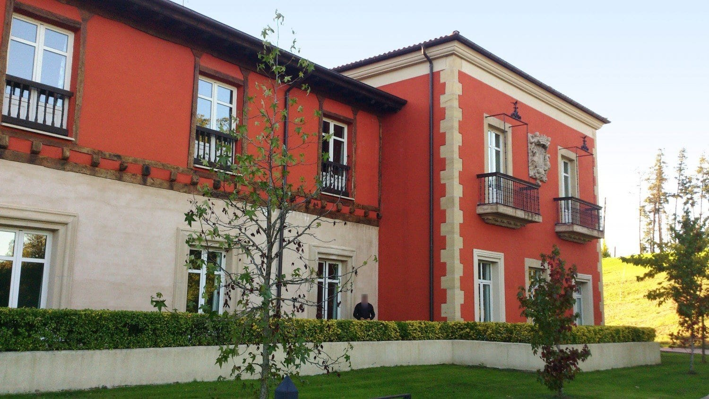 Hotel Palacio Urgoiti - Cuerpo trasero
