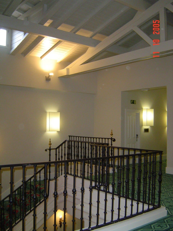 Hotel Palacio Urgoiti - Escalera principal