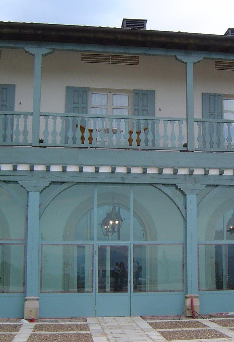 Hotel Palacio Urgoiti - Fachada hacia el patio