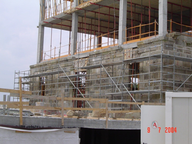 Hotel Palacio Urgoiti - Obras de reconstrucción