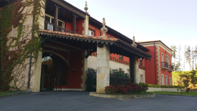 Hotel Palacio Urgoiti - Porche de entrada