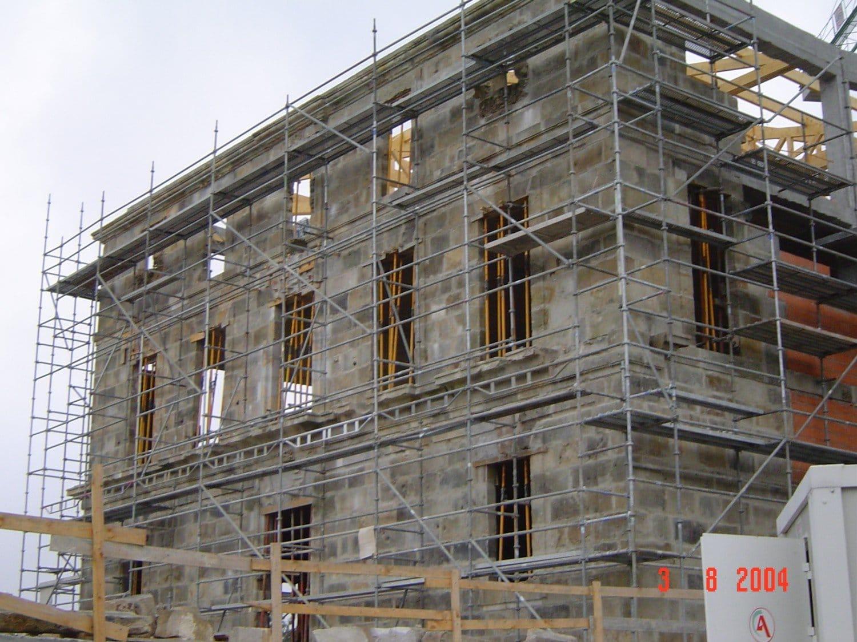 Hotel Palacio Urgoiti - Reconstrucción de la fachada