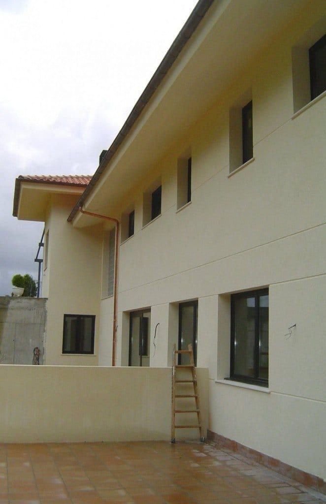 Bifamiliar en Laukiz - Detalle de la fachada