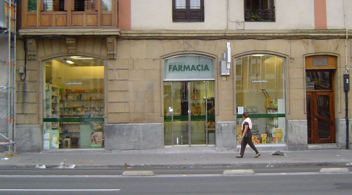Reforma de local para farmacia - Exterior