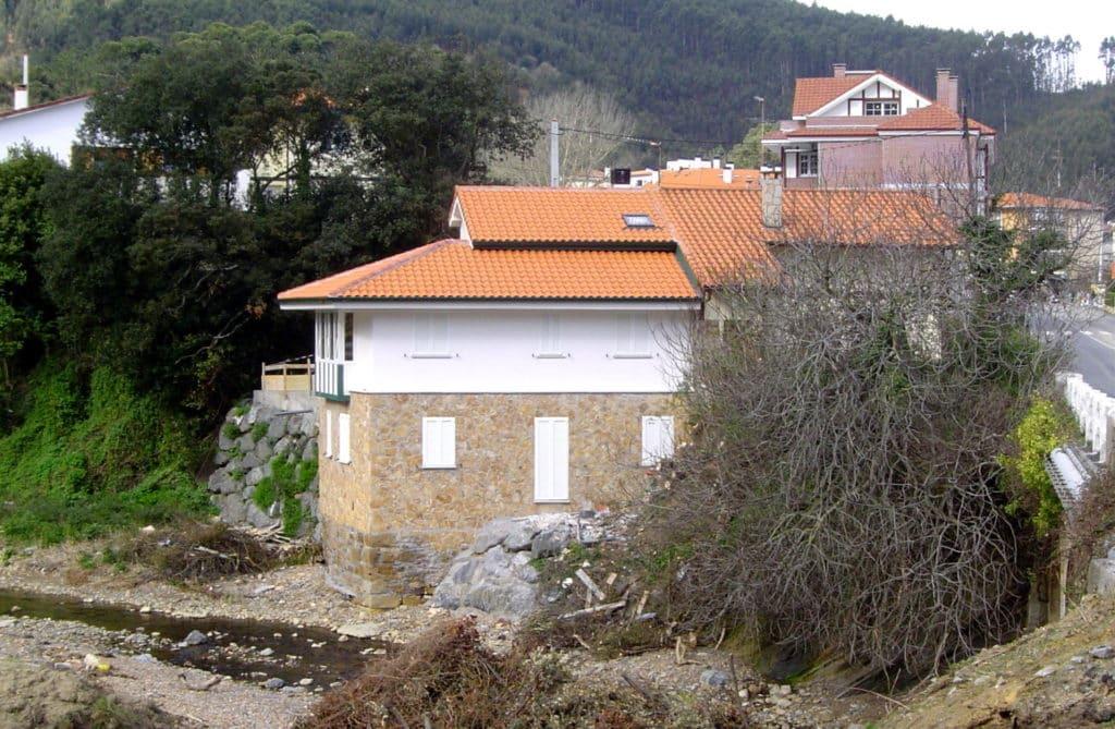Molino en Arminza - desde el oeste