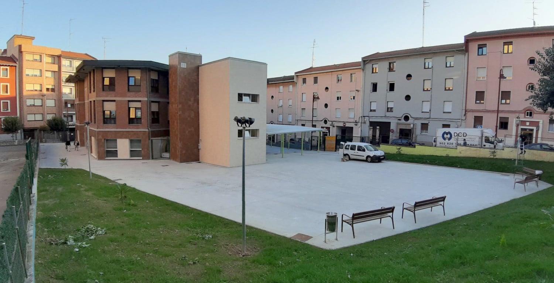 Reforma del CEIP Bagaza - Patio